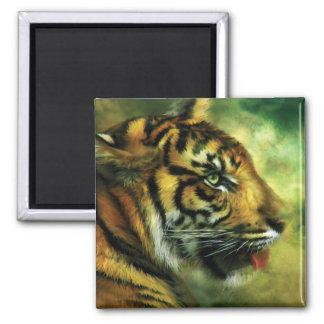 Alcohol del imán del arte del tigre