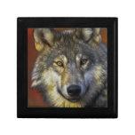 Alcohol del lobo - regalos de la foto del lobo de  cajas de recuerdo