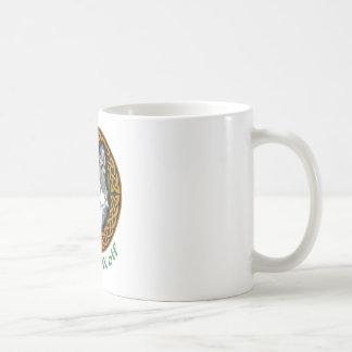 Alcohol del lobo taza de café