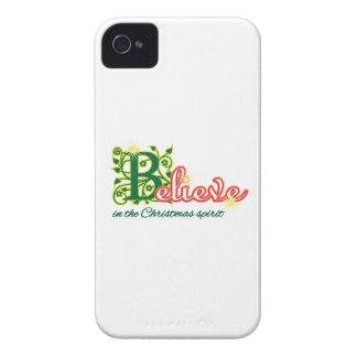 Alcohol del navidad iPhone 4 Case-Mate cárcasas