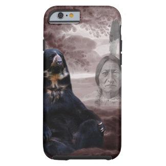Alcohol del oso negro funda de iPhone 6 tough
