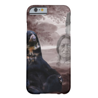 Alcohol del oso negro funda de iPhone 6 barely there