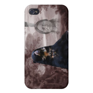 Alcohol del oso negro iPhone 4/4S carcasa