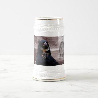 Alcohol del oso negro jarra de cerveza