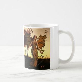 Alcohol del otoño taza de café