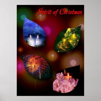 Alcohol del poster del navidad