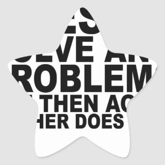 Alcohol doesn't solve any problems...png star sticker