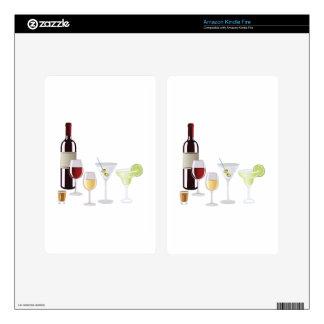 Alcohol Drinks Kindle Fire Skins