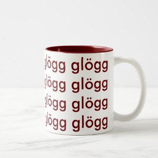 Alcohol escandinavo divertido de Glogg Glogg Glogg Taza Dos Tonos
