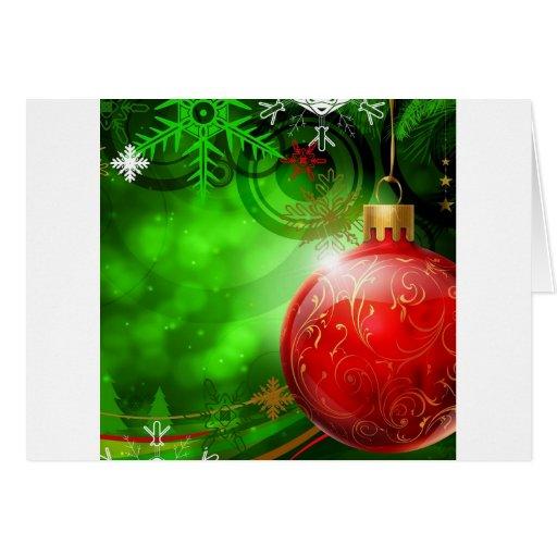 Alcohol fresco abstracto del navidad tarjeta de felicitación