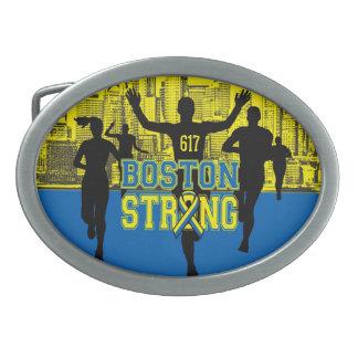 Alcohol fuerte de Boston Hebilla De Cinturon Oval