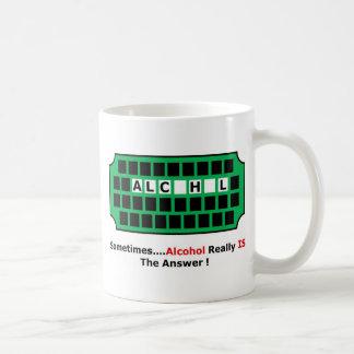 alcohol full coffee mug