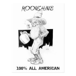 ¡Alcohol ilegal - el 100% todo americano! Tarjetas Postales