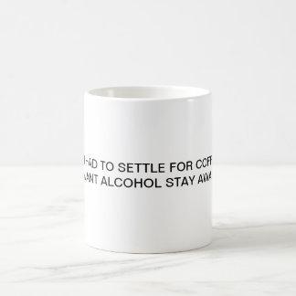 ALCOHOL INSTEAD MAGIC MUG