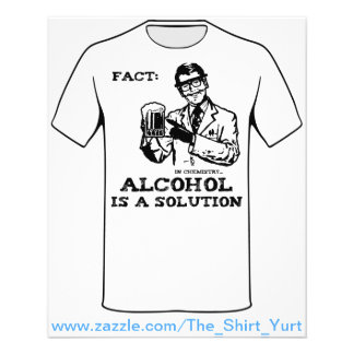 Alcohol is a Solution in Chemistry Flyer