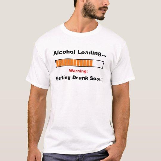 Alcohol Loading Full T-Shirt