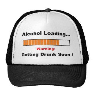 Alcohol Loading Full Trucker Hat