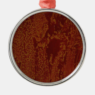 ALCOHOL MEETS PAINT ONE METAL ORNAMENT