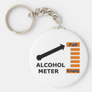 Alcohol Meter Keychain