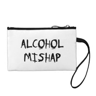 Alcohol Mishap Coin Wallets