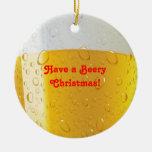 Alcohol/ornamento cervecero del navidad ornamento de reyes magos