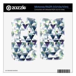 Alcohol - piel de Motorola RAZR V3 V3c V3m Calcomanías Para Motorola RAZR