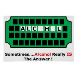 alcohol por completo posters