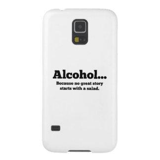 Alcohol… Porque ninguna gran historia comienza con Funda Para Galaxy S5