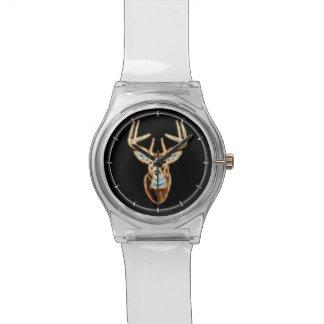 Alcohol principal de la energía de los ciervos relojes de pulsera