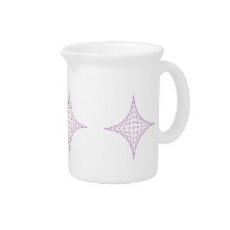 Alcohol (púrpura) jarras para bebida