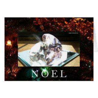 Alcohol reflejado del navidad tarjeta de felicitación