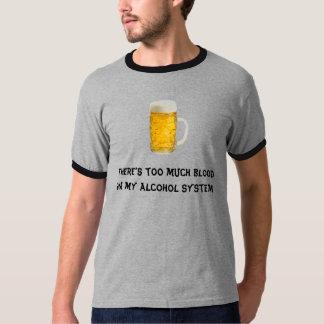Alcohol system shirt
