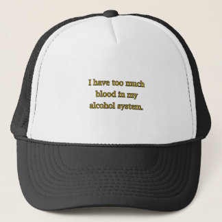 Alcohol System Trucker Hat