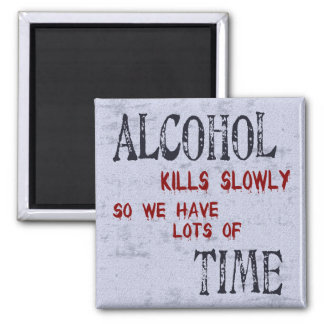 Alcohol Time Refrigerator Magnets