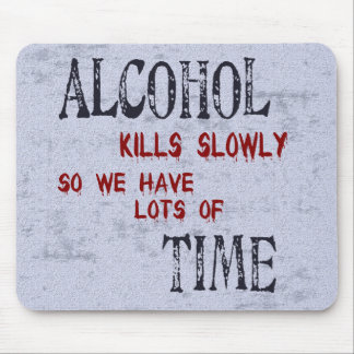Alcohol Time Mouse Pad