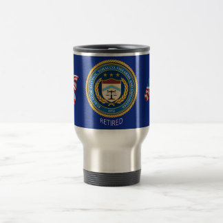Alcohol Tobacco and Firearms Retired Travel Mug