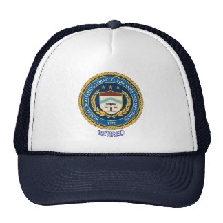 Alcohol Tobacco and Firearms Retired Trucker Hat