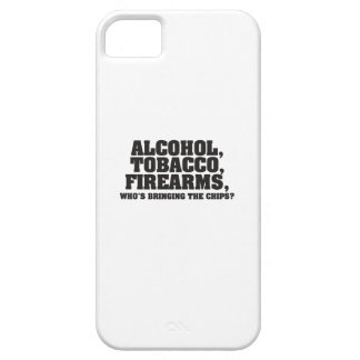 Alcohol Tobacco Firearms Who s bringing the chips iPhone 5 Covers