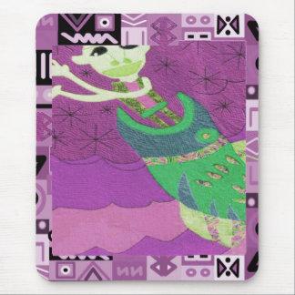 Alcohol tribal - arte de Aftrican Tapetes De Ratones