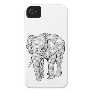 """Alcohol"" v.1 - animal surrealista del elefante iPhone 4 Case-Mate Cárcasa"
