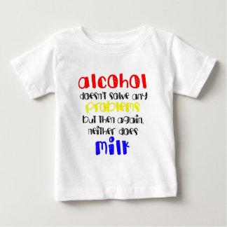 Alcohol VS milk T-shirt