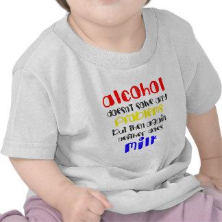 Alcohol VS milk Tee Shirt
