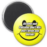 Alcohol y cálculo iman