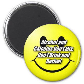 Alcohol y cálculo imán redondo 5 cm