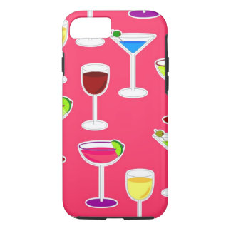 Alcoholic Beverages Cocktail Party - Pink iPhone 7 Case