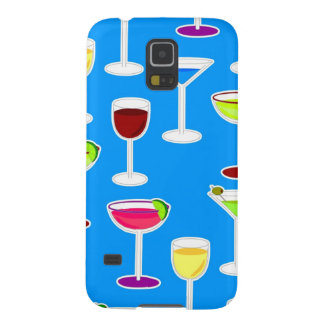 Alcoholic Beverages Cocktail Party Print - Blue Galaxy S5 Cover