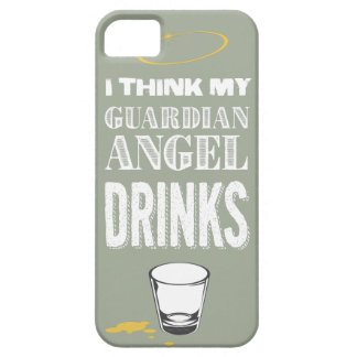 Alcoholic Guardian Angel iPhone SE/5/5s Case