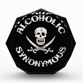 Alcoholic Synonymous Acrylic Award