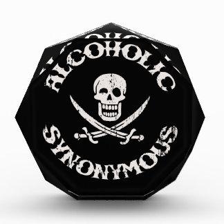 Alcoholic Synonymous Awards