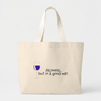 Alcohólico pero en un buen vino de la manera bolsas